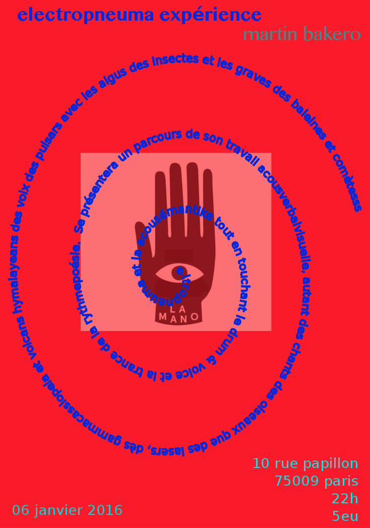 martin bakero la mano